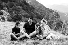 Družinsko fotografiranje na Nanosu