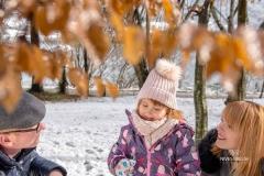 Zimsko družinsko fotografiranje